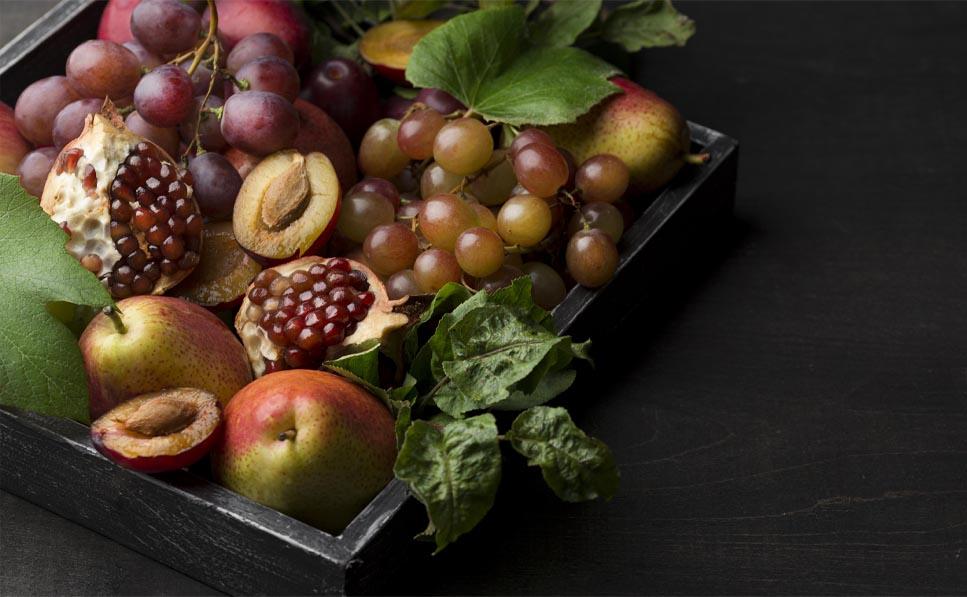 los alimentos del otoño